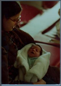 Mariel 4 days old