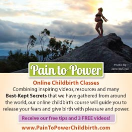 pain to power online childbirth classes